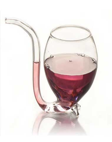 Glass-drinking-water-shape-pipe