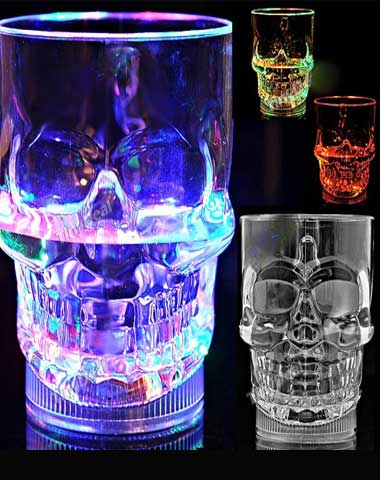 Skull-glassfournew4LED