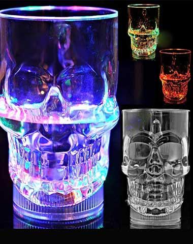 Skull-glassfournew4LED